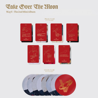 Wayv - 2Nd Mini Album Take Over The Moon Photo Card & Circle Card