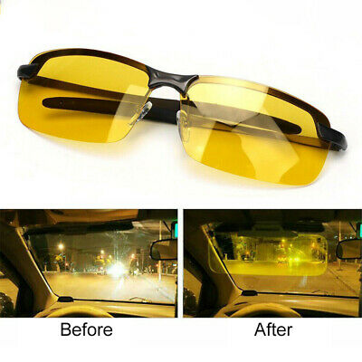 HD Anti-glare Night Vision Polarized Driving Glasses Sunglasses Goggles Unisex