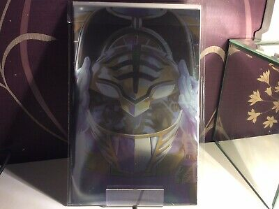 mighty morphin power rangers Issue 40 Foil Cover