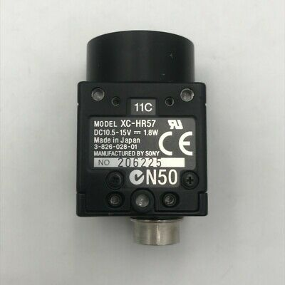 1 PCS used Sony XC-HR57 industrial detection 1/2 CCD camera