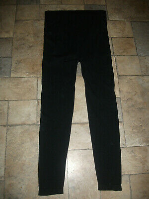 **Ladies New Look Maternity Black Leggings Size Large Great Condition**