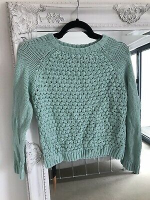 Mint Green Girls New Look Jumper Size 12-13