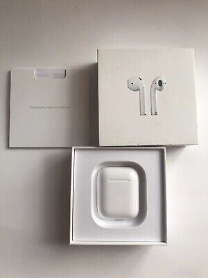 Apple AirPods Charging Case Only 1st Generation With Box A1602- White