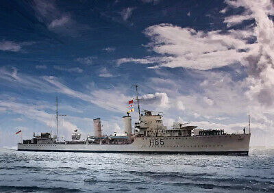 LIMITED EDITION ART HMS CHEQUERS 25