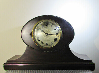 Impressive and unusual 8 day Chiming Mantel Clock by William L Gilbert USA