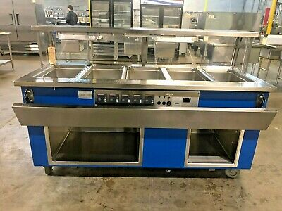Colorpoint Ef5-Cpa 5-Well Steam Table #14518
