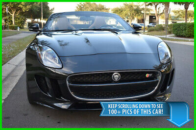 2014 Jaguar F-Type S V8 CONVERTIBLE - LOADED - $103,300 MSRP - BEST DEAL ON EBAY F Type Mercedes-Benz AMG GT R S Porsche 911 Carrera Turbo Chevrolet Corvette Z06