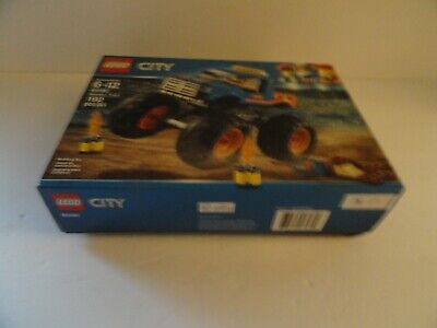 NEW LEGO City Great Vehicles Monster Truck 60180 Working Suspension 192 Pieces