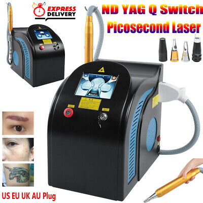 Picosecondo Laser Tattoo Spot Removal ND YAG Q-Switch Pico Beauty Machine 2000mj