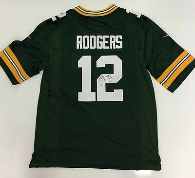 Aaron Rodgers Green Bay Packers NFL Football Jersey Signed  with Certificate
