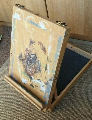 Artist Art Portable Easel Drawing Painting Wood Table Sketch Carry Storage Box
