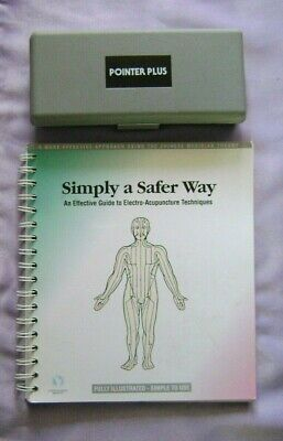 Pointer Plus Hand Held Acupuncture Trigger Point Locator w/ Book