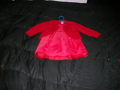 NWT Old Navy~~Christmas Red Sweater & Sleeveless Dress~~Size  18-24  M