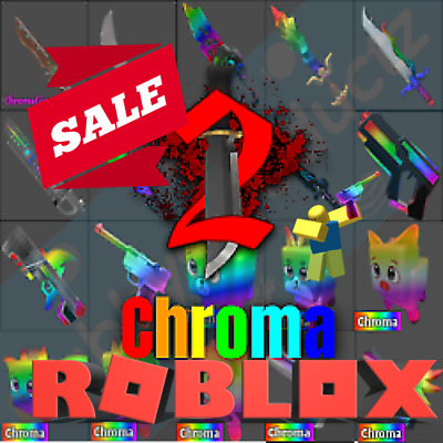 🔥💎🔪 Roblox Murder Mystery 2 MM2 CHROMA Chromas WEAPONS Godly Knifes and Guns