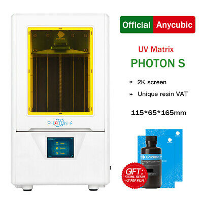 CA ANYCUBIC Photon S LCD Photocuring 3D Printer UV Resin Light-Cure Dual Z-axis