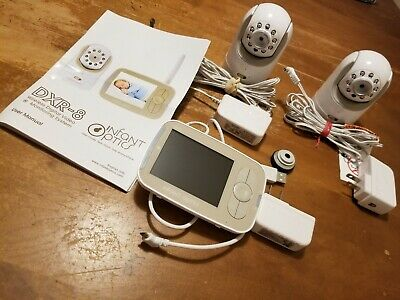 Infant Optics DXR-8 Video Baby Monitor with Optical Lens + Add on camera