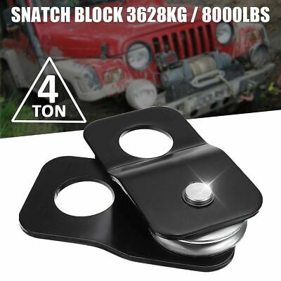 """New Universal Recovery 8 Tons//16000lb 1//2/"""" Winch Snatch Pulley Block PBK150-CAD"""