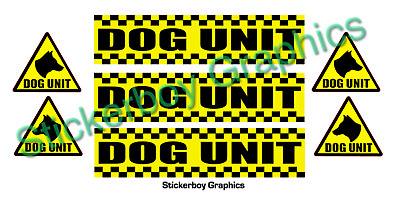 Dog Unit Magnet Battenberg Security K9 Handler Magnetic SIA Patrol Pack KIT