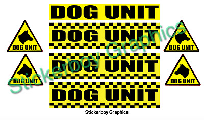 Dog Unit Magnet Battenberg Security K9 Handler Magnetic SIA Patrol Pack KIT 2