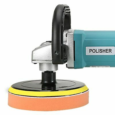 Electric 6 Variable Speed Car Polisher Kit 180mm Polishing Machine-UK