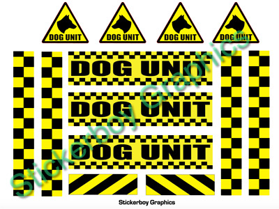Dog Unit Magnet Battenberg Security K9 Handler Magnetic SIA Patrol Pack KIT 3