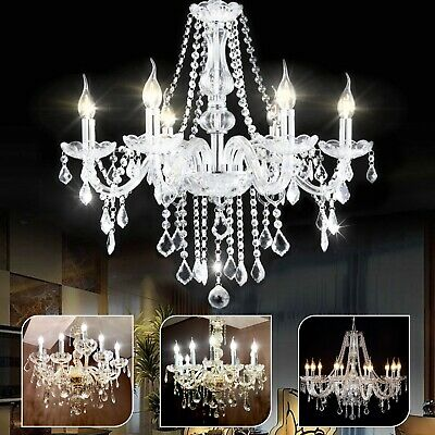 Modern ceiling lights Crystal Chandelier light shade Pendant Droplets 1 8 10 ARM