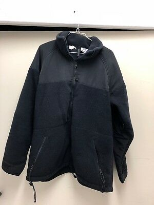 US Army Kälteschutzjacke POLARTEC 200 ECWCS Large FLEECE Thermojacke schwarz