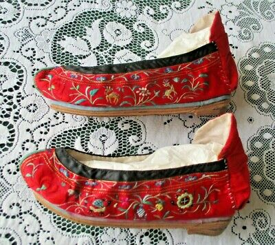 Vintage Chinese Slippers for Bound Feet