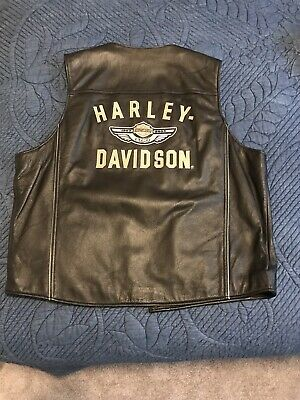 Harley Davidson Extra Large Leather Vest