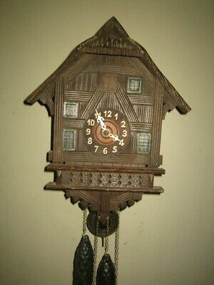 Antique Cuckoo  Clock. Works