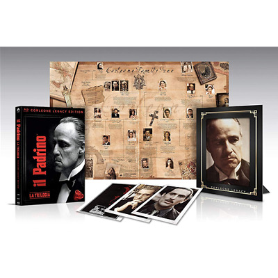 Box *** IL PADRINO Trilogia (Corleone Legacy Ltd Collection 3 Br) *** sigillato