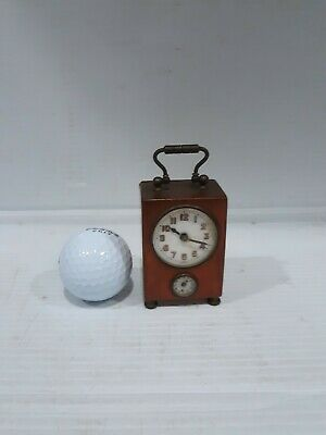 Miniature Carriage Alarm Clock Germany