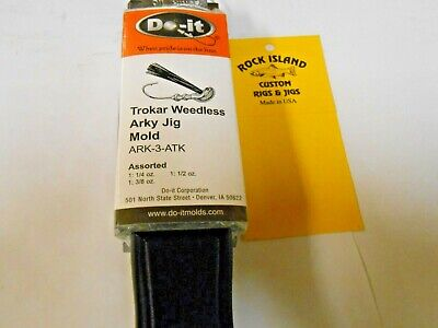 3504 DO-IT BAT JIG MOLD 1//32-1//4 oz I combine /& refund excess shipping fees!