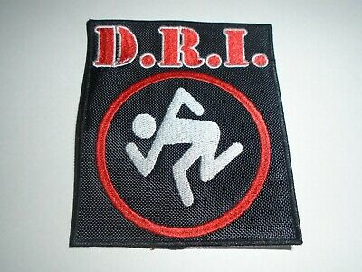 Dirty Rotten Imbeciles D.r.i.embroidered Patch