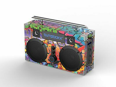 Bumpboxx Ultra Bluetooth Boombox (Graffiti)