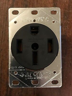 Pass & Seymour Range Receptacle 50A 50 Amp Flush Mount 3 Pole 4 Wire 3894 NEW