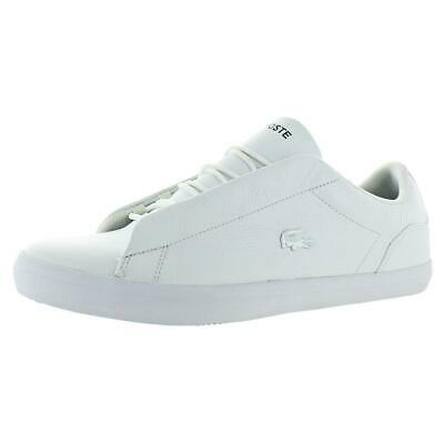LACOSTE MENS LEROND 318 2 LEATHER TRAINERS JD EXCLUSIVE 7-36cam0049001 RARE