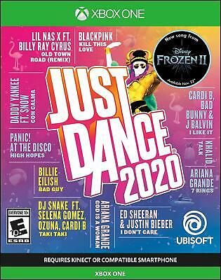 Xbox One Just Dance 2020 Brand New Factory Sealed