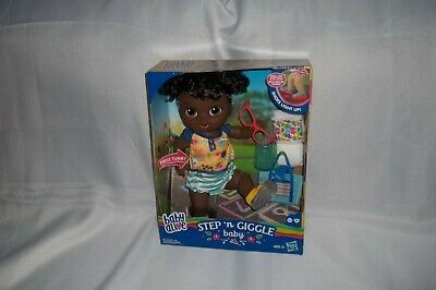 Nib Baby Alive Step 'N Giggle Baby Shoes Light Up 25+ Sounds & Phrases New 2019