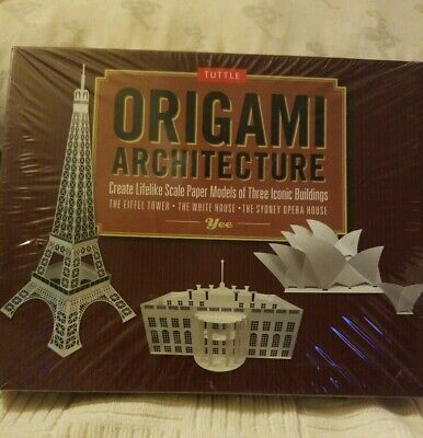 Tuttle Origami Architecture Scale Paper Model Of Three Iconic Buildings
