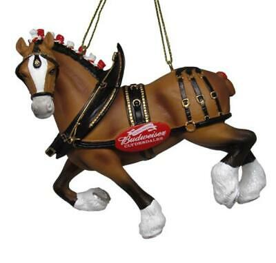 Budweiser Clydesdale Figural Ornament 2019 Beautiful New W Tags