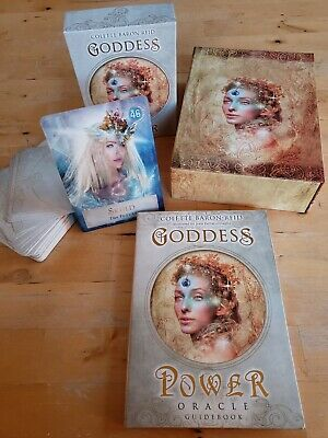 Goddess Power 52 Oracle Cards: Deck and Guidebook