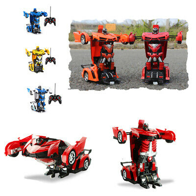 RC Robot Car Transformers Kids Toys Toddler Vehicle Cool Toy for Boys Xmas Gift