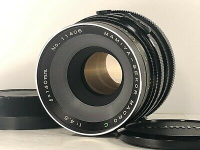 [Exc++++] Mamiya Sekor C 140mm Macro f/4.5 MF Lens for RB67 S SD from JAPAN