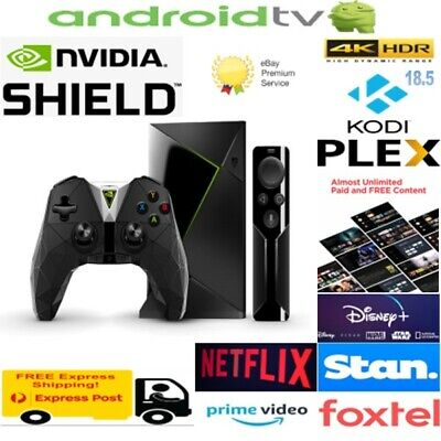 Nvidia Sheild Tv W/ Controller - Android Tv 4K Hdr Streaming Media Player