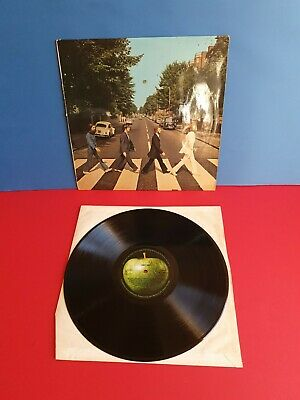 Beatles-Abbey Road Lp-Apple-Pcs 7088 Uk Press-1970-Vinyl Near Mint