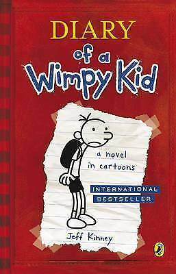 Diary Of A Wimpy Kid (Book 1) by Jeff Kinney (Paperback, 2008) Brand New