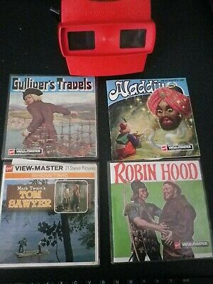 Viewmaster By Gaf With Assorted Reels