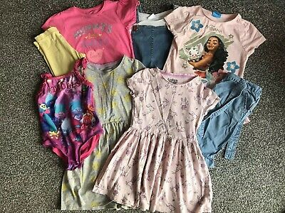 (2) Girls Summer Outfit Bundle, Age 5-6