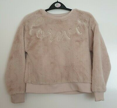 Girl's River Island Jumper 'Forever'  Age 9-10 Years